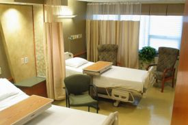 st peters hospital room